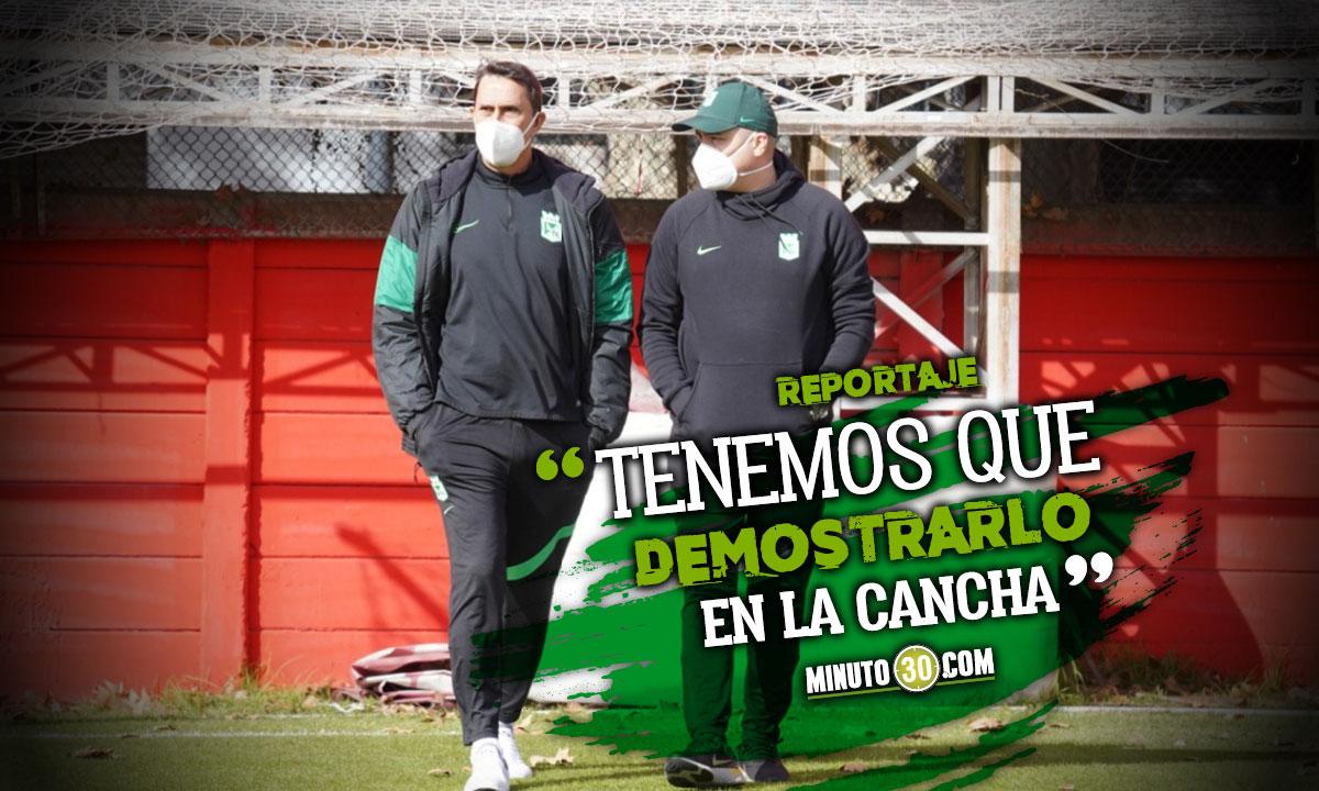 Estamos claros queremos lo mismo que los hInchas Alexandre Guimaraes