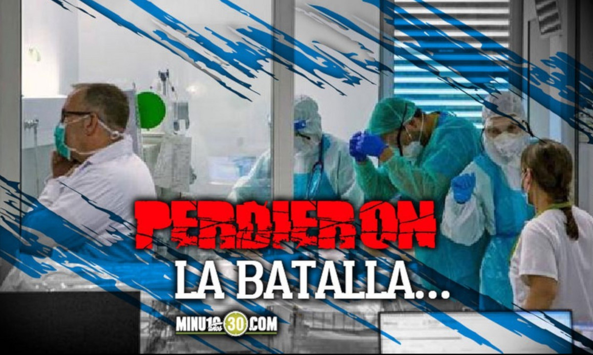 ¡Doloroso! Colombia registró hoy 509 fallecidos por Covid