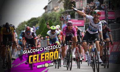 Fernando Gaviria no pudo en el embalaje en la etapa 13 del Giro de Italia