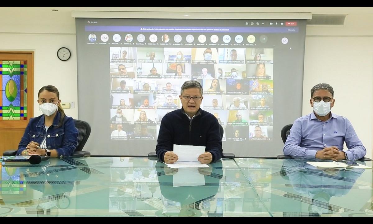 [Video] Gobernador (e) de Antioquia convoca a todos los ciudadanos a un diálogo social