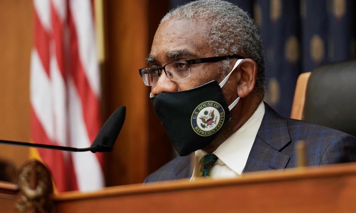El presidente del Comité de Asuntos Exteriores de la Cámara de Representantes, el demócrata Gregory Meeks. EFE/EPA/Ken Cedeno/Archivo