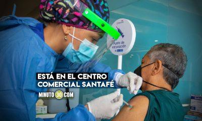 ¡Qué bien! Habilitan otro punto de vacunación masiva en Medellín