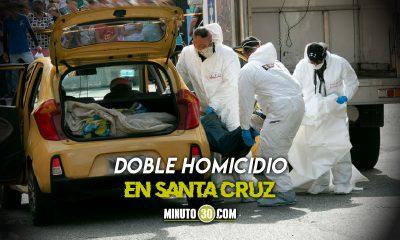 Identificaron solo a uno de los muertos hallados en un taxi en Santa Cruz