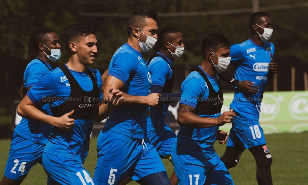 Independiente Medellin entrenamiento