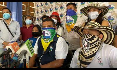 """[Video] """"Venimos en son de paz y no a hacer conflicto"""": Indigenas en Medellín"""