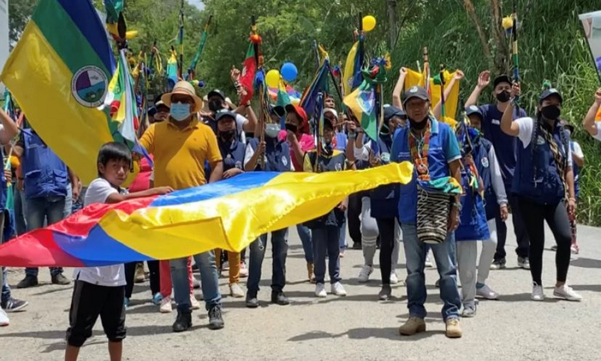 Medellín-Minga Indígena
