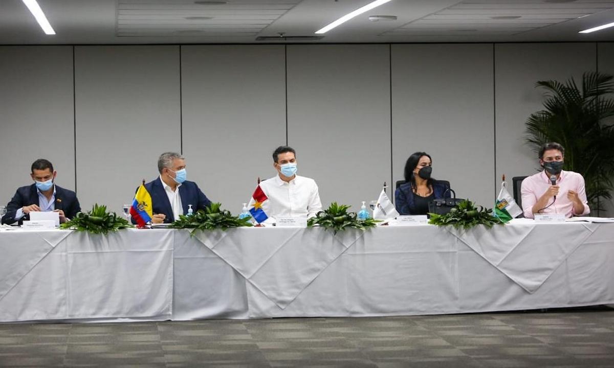 Iván Duque-reunión-Medellín