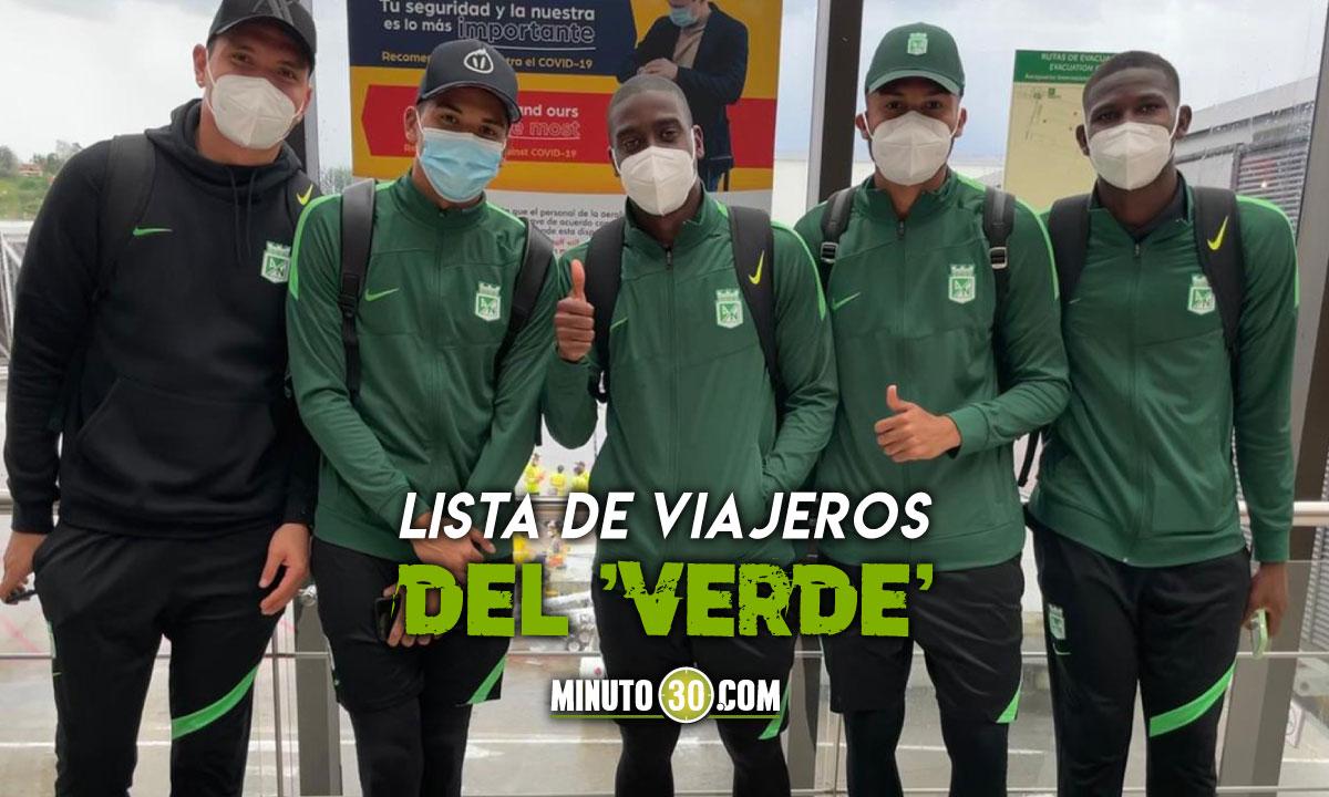 Jefferson Duque tambien sera baja en Nacional para enfrentar a Argentinos Juniors
