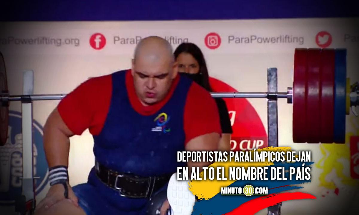 Jhon Freddy Castaneda se colgo la plata en Copa Mundo de Parapowerlifting