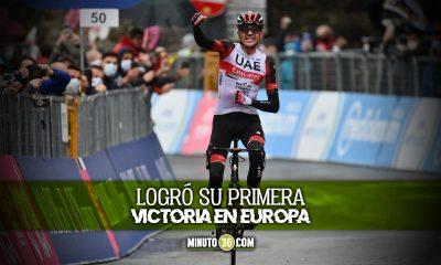 Joe Dombrowski gano cuarta etapa del Giro de Italia que tiene nuevo lider