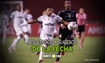 Jornada del martes en Copa Libertadores arrojo el primer clasificado a octavos