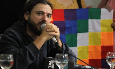 En la imagen, el líder social argentino, Juan Grabois. EFE/Aitor Pereira/Archivo