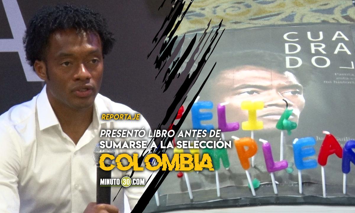 Juan Guillermo Cuadrado celebro su cumpleanos en Medellin