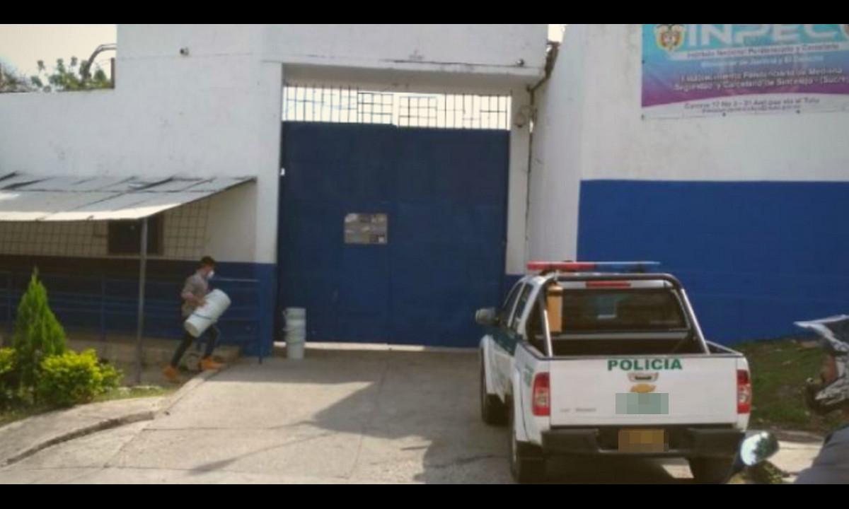 En huelga de hambre se declararon los presos de una cárcel de Sincelejo