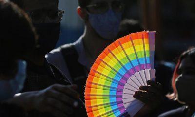 """""""La UE seguirá a la vanguardia de los esfuerzos para garantizar el disfrute pleno e igualitario de los derechos humanos de las personas LGTBI"""", aseguró en el comunicado. EFE/EPA/JAGADEESH NV/A"""