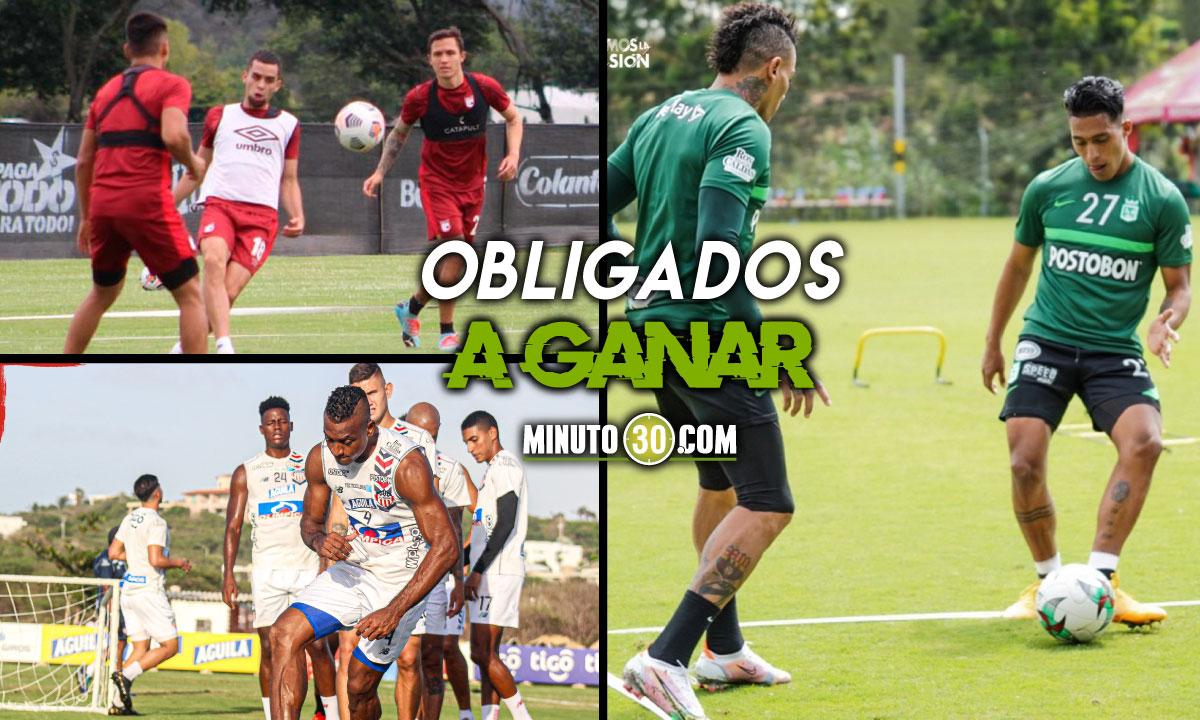 La Copa Libertadores tendra este miercoles tres equipos colombianos en accion