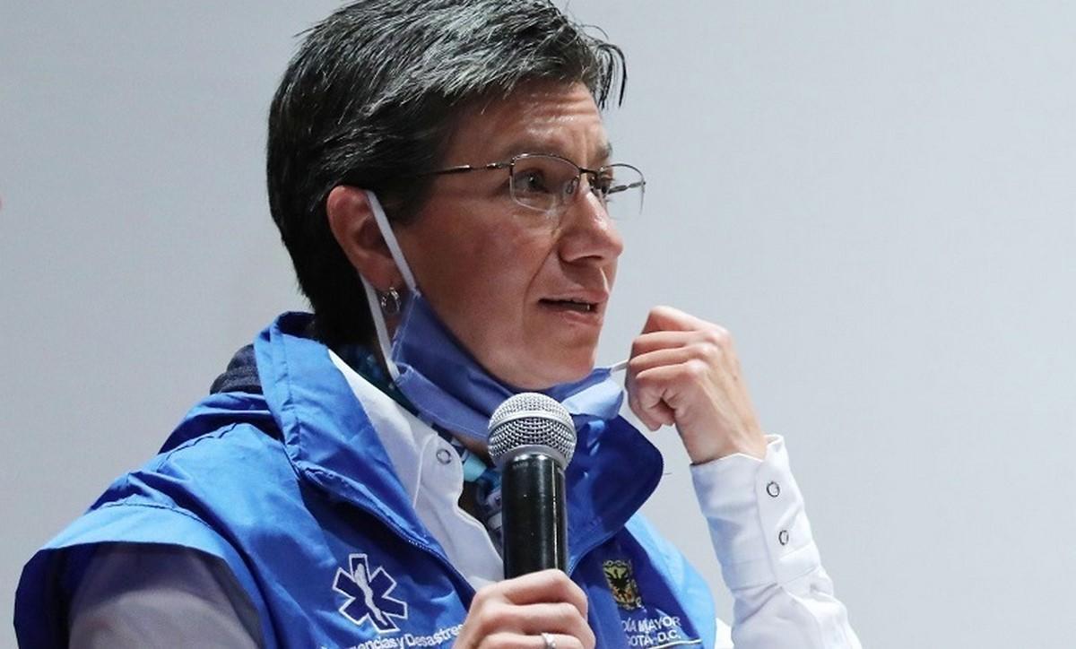 Claudia López alerta por disparo de cifras covid en Bogotá