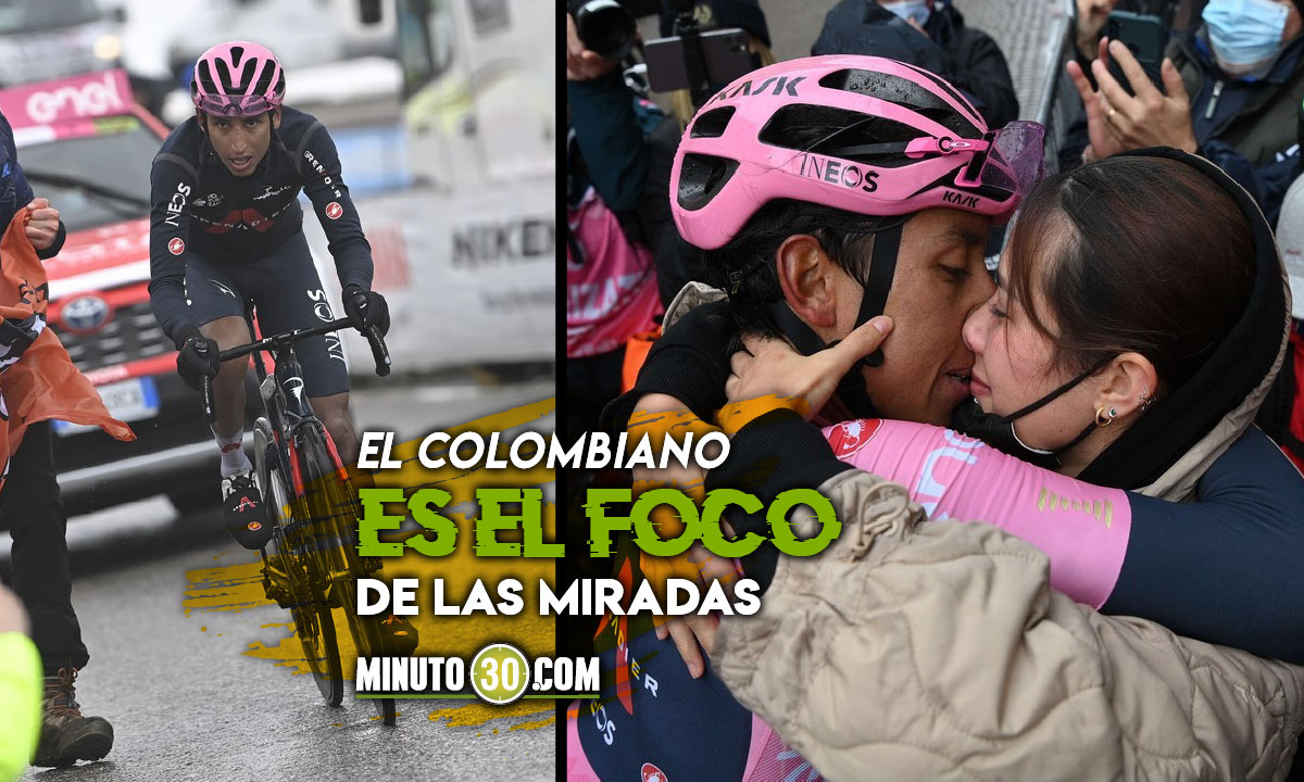 Las postales que dejo el triunfo de Egan Bernal en la etapa 16 del Giro de Italia