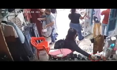 ¡Uy, qué 'lisa'! Ladrona quedó grabada, el mismo día robó en negocios de Andes y Amagá