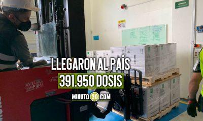 ¡Qué bien! Llegó un nuevo lote de vacunas de Pfizer a Colombia