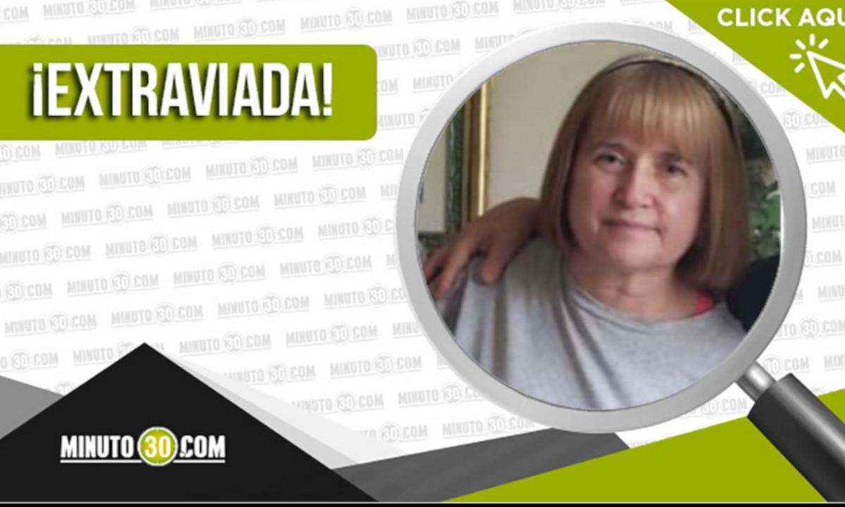 Buscan a Magnolia Jaramillo Saldarriaga de 66 años está desaparecidac