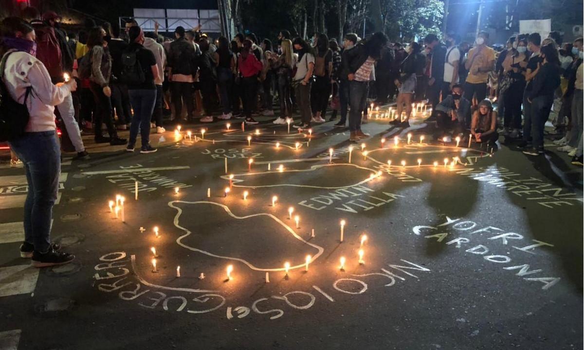 Con tono pacifico continúan las manifestaciones en Manizales