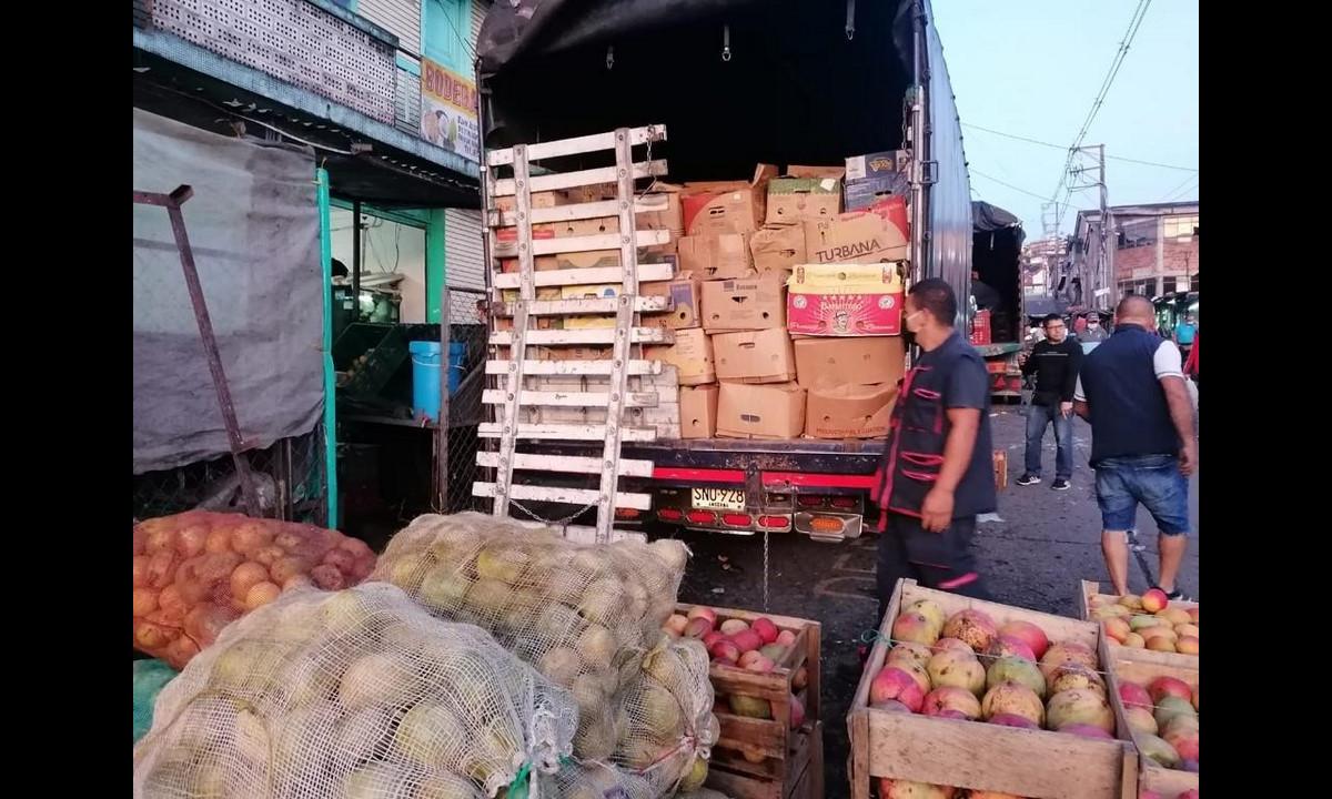 ¡Qué bien! La Alcaldía Manizales flexibilizó los horarios de descargue de alimentos para evitar desabastecimiento