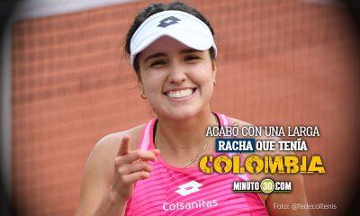 Maria Camila Osorio se metio al cuadro principal de Roland Garros