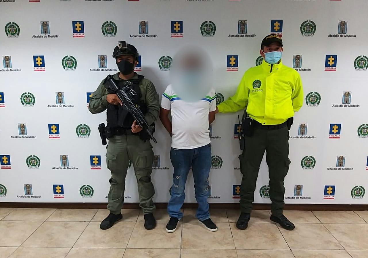 Medellín-capturado