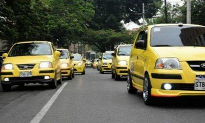 Medellín-paro-taxistas
