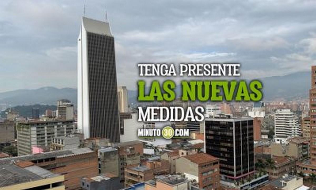[Video] Entérese: Estas son las medidas que regirán esta semana en Antioquia