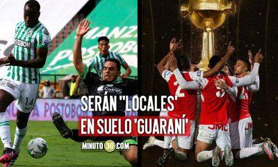 Nacional Santa Fe y La Equidad juntos hacia Paraguay