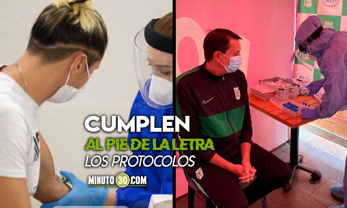 Nacional y Medellin revelaron resultados de la pruebas de Covid 19