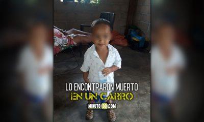 Niño de 2 años reportado como desaparecido fue hallado muerto en Caucasia