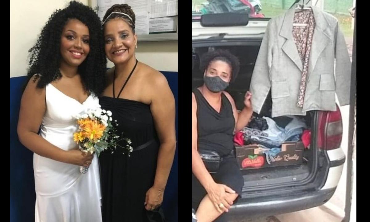 ¡Conmovedor! Mujer vendio su ropa para comprarle el vestido de novia a su hija