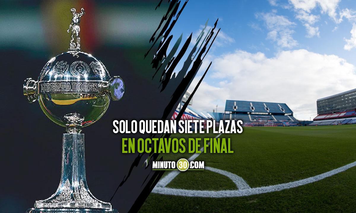 Nueve equipos llegan clasificados a la ultima fecha de la fase de grupos de Copa Libertadores