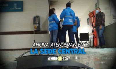 Oficinas de la Personería de Medellín en El Bosque fueron destruidas en medio de las protestas