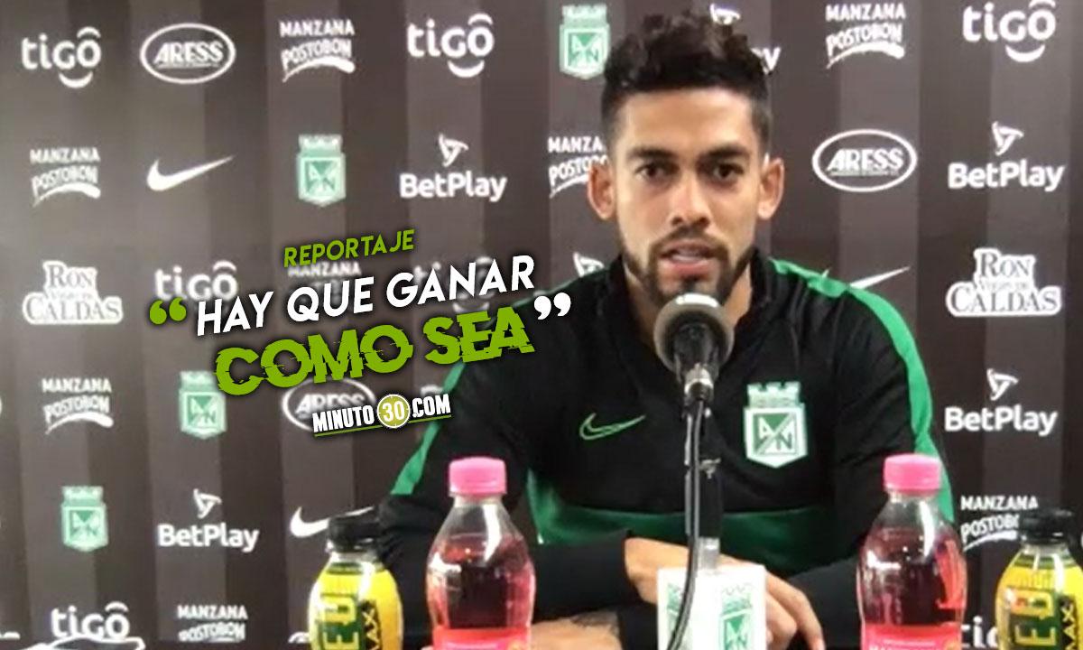 Para Andres Andrade es prioridad el resultado en partido de Copa Libertadores