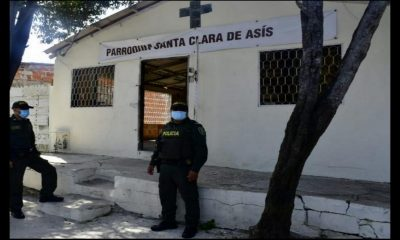 ¡Atrevidos! Delincuentes robaron una parroquia, se llevaron hasta las copas sagradas