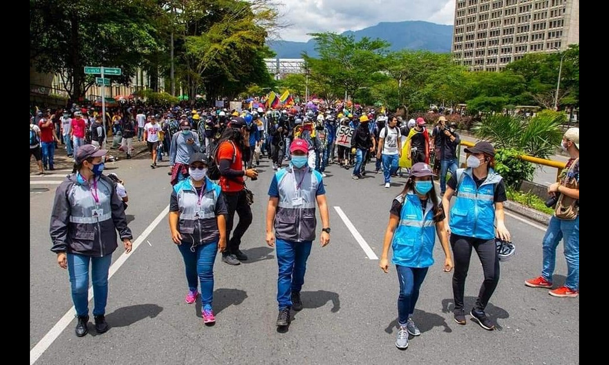 [Videos] Tres movilizaciones se presentaron hoy en Medellín, vea el balance de la jornada