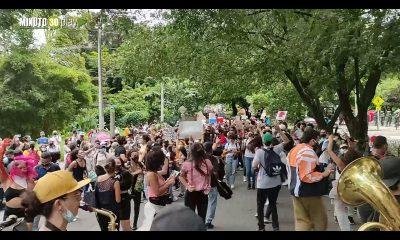 En video: Protesta pacífica desde El Poblado a Envigado