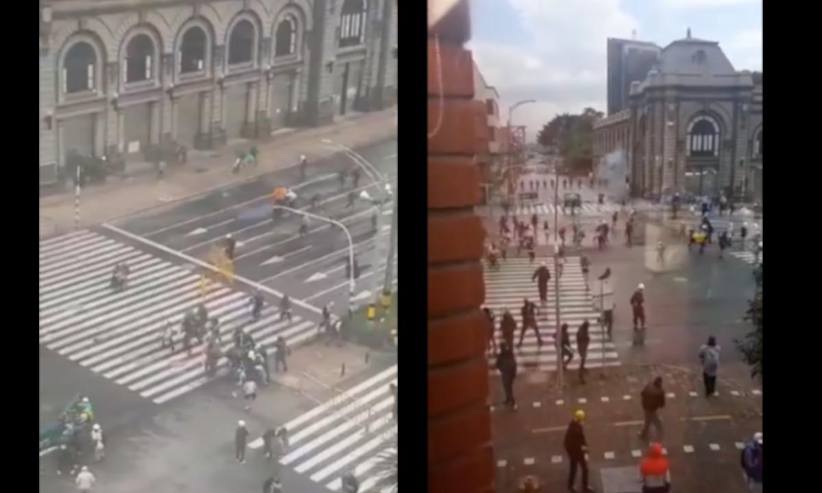 Balance de protestas registradas hoy en Medellín