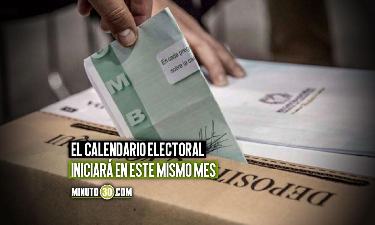 Registraduría dio fecha para las elecciones presidenciales