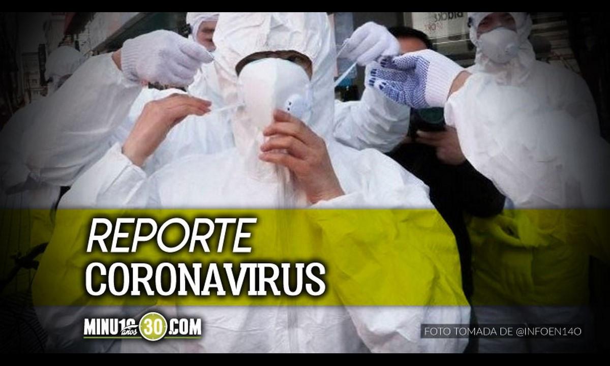 ¡Bajó! Este sábado se registraron 2.301 contagiados nuevos de Covid en Antioquia
