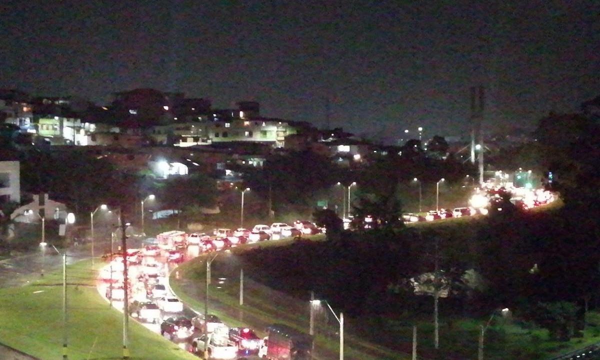 ¡Atención! Congestión vehicular en Rionegro
