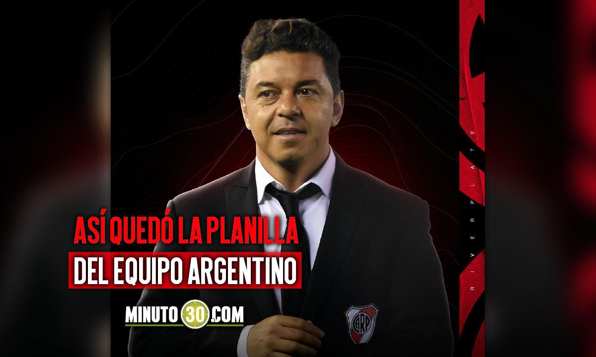 River Plate definio quien sera el guardameta par enfrentar a Santa Fe