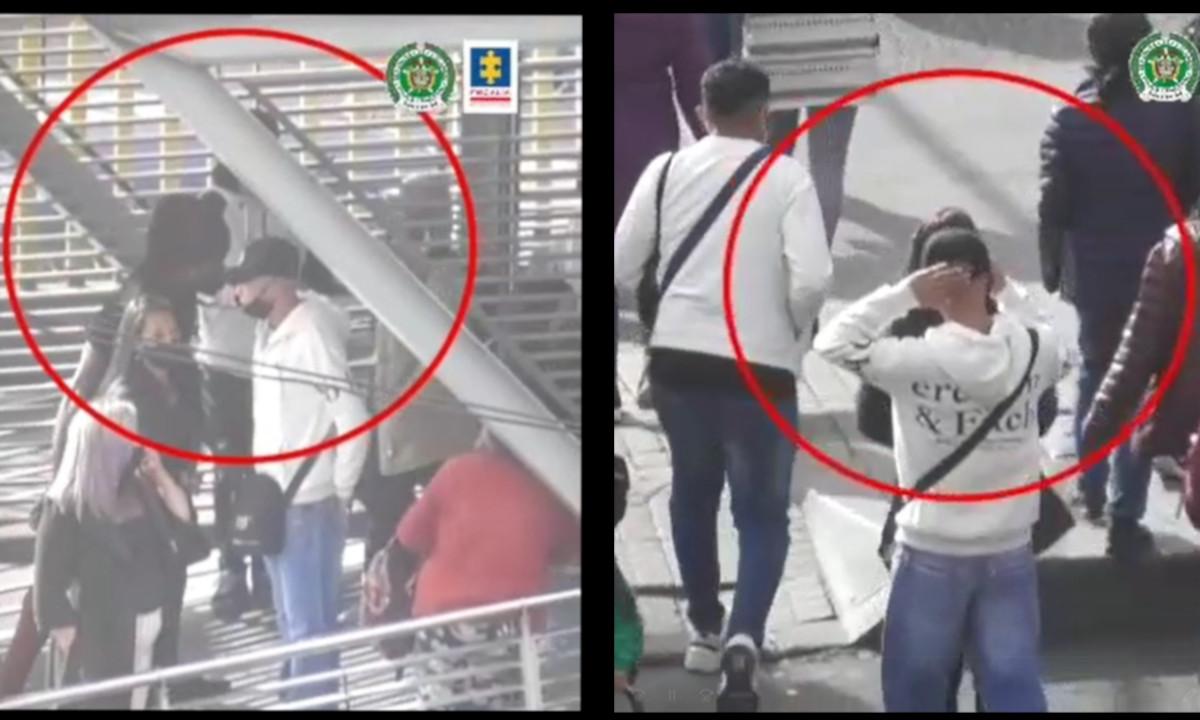 [Video] Así robaban y a plena luz del día estás cuatro 'bellezas' en Bogotá