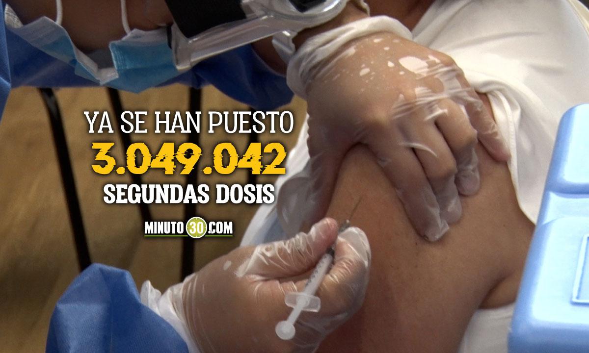Colombia superó los 8 millones de vacunas Covid aplicadas