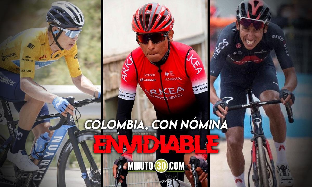 Se conocio la Preseleccion Colombia de ciclismo para los Juego Olimpicos