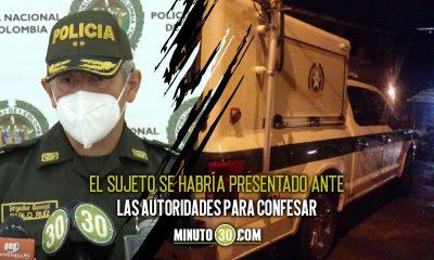 Se entrego el sujeto que habria matado a cuchillo a una mujer venezolana en el Popular 1